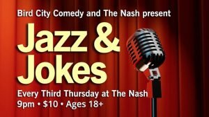 September 21: Jazz & Jokes @ The Nash | Phoenix | Arizona | United States