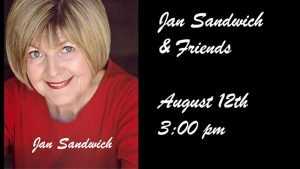 August 12 Jazz Matinee: Jan Sandwich & Friends @ The Nash | Phoenix | Arizona | United States